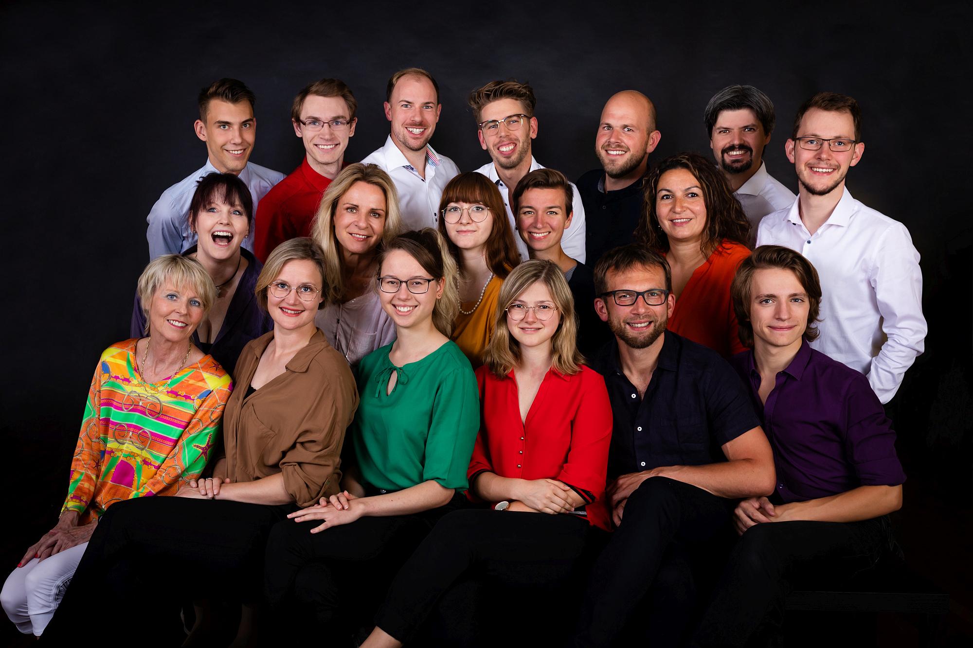 Das Team der Tanzschule Rupprecht Gillet
